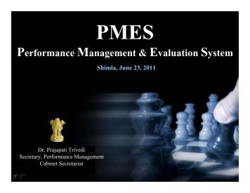Performance Management & Evaluation System - Planning ...