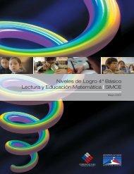 Niveles de Logro 4º Básico Lectura y Educación Matemática | SIMCE