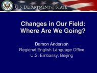 Changes in Our Field: Where are we going?