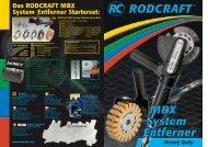 Das RODCRAFT MBX System Entferner Starterset: - mrtools