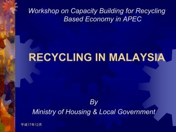 Recycling in Malaysia