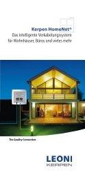 Kerpen HomeNet® Das intelligente Verkabelungssystem für ...
