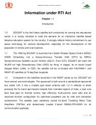 Information under RTI Act - SSA Punjab