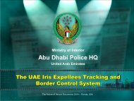 The UAE Iris Expellees Tracking And