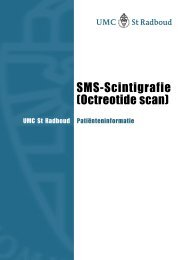 SMS-Scintigrafie (Octreotide scan)