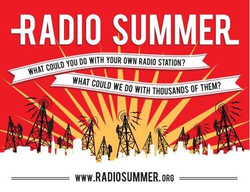 Radio Summer Postcard - Prometheus Radio Project