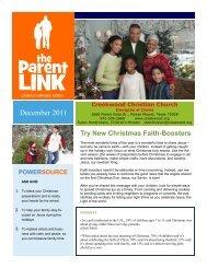family experience - Creekwood Christian Church