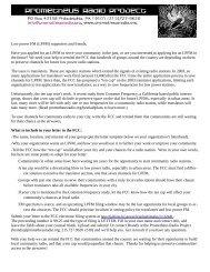 Low power FM (LPFM) - Prometheus Radio Project