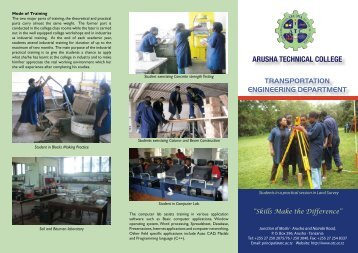 here - Arusha Technical College