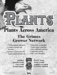 Plants Across America - Grimes Seeds Online Store