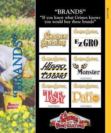 """BRANDS"" - Grimes Horticulture"