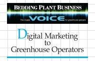 Digital Marketing to Greenhouse Operators - Grimes Horticulture