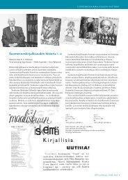 Suomennoskirjallisuuden historia –2 - Suomalaisen Kirjallisuuden ...