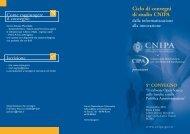 agenda dei lavori - Archivio CNIPA
