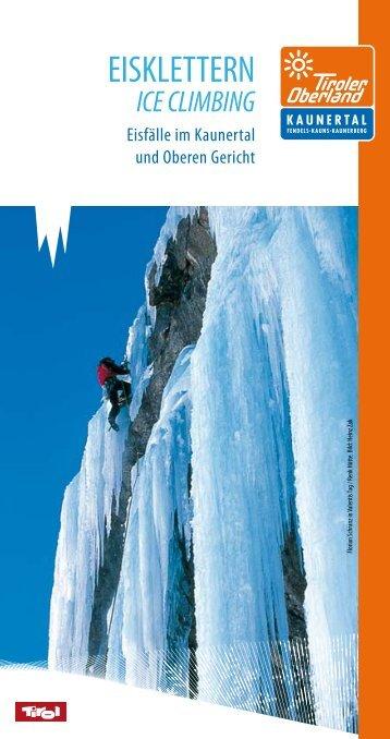 ice climbing - Kaunertal