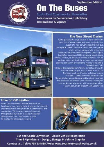 newsletter Sep 2011 - South East Coachworks