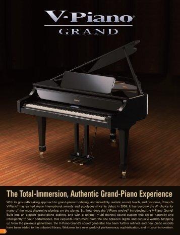 V-Piano Grand Brochure - Roland Corporation US