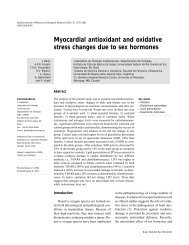 Myocardial antioxidant and oxidative stress changes due to sex ...