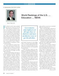World Rankings of the US … Education - National Environmental ...