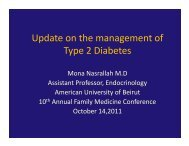 Update on the management of Type 2 Diabetes