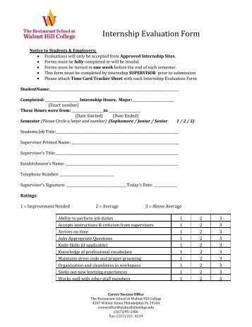 Pastor Evaluation Form Pdf.Pdf - Capitol Hill Presbyterian