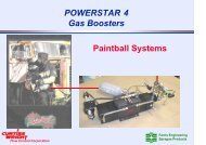 POWERSTAR 4 Gas Boosters Paintball Systems