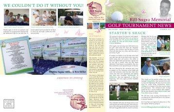 Summer 2012 - Bill Sugra Memorial Fund