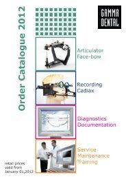 Order Catalogue 2012 - Cwitt Dental