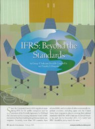 IFRS: Beyond the Standards
