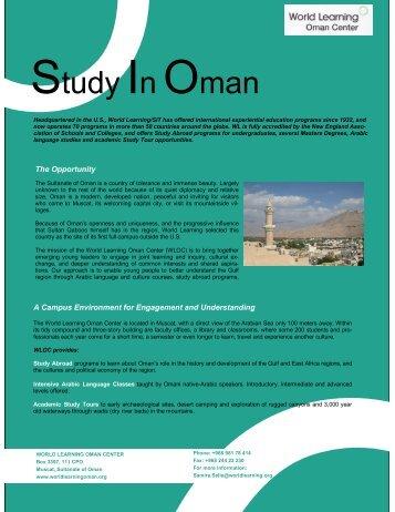 Study In Oman