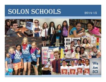 Calendar - Solon City Schools