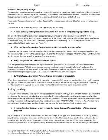 expository essay purdue owl What is an expository essay purdue owl - solon city read more about essay, expository, paragraph, purdue, thesis and concerning.