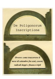 De Poligonorum Inscriptione - Rudi Mathematici