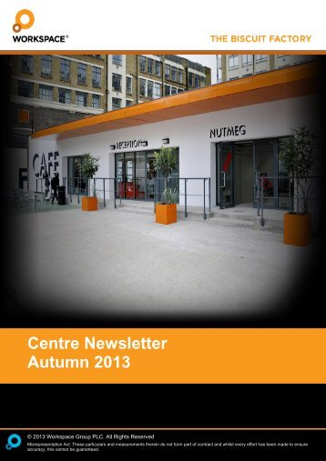 Autumn 2013 - The Biscuit Factory