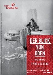 DER BLICK VON OBEN - Centre Pompidou Metz