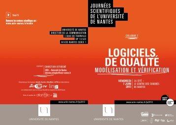 LOGiCiELS DE QUALité - Lina - Université de Nantes