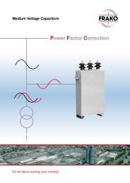 Medium Voltage Capacitors - Allied Industrial Marketing