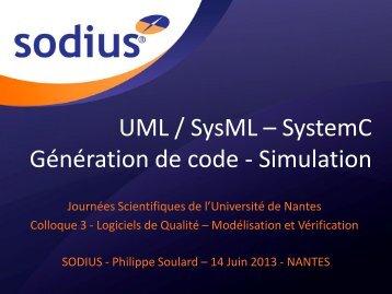 UML / SysML - Lina - Université de Nantes