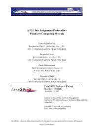 A P2P Job Assignment Protocol for Volunteer ... - CiteSeerX