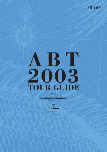 ABT 2003 TOUR GUIDE - bream