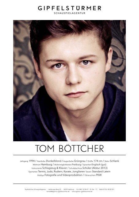 Laden Sie sich hier Toms Vita als PDF - Schauspielagentur ...