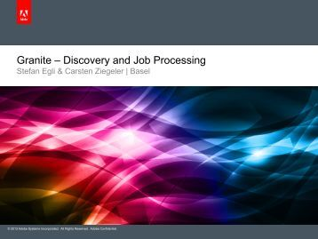Granite – Discovery and Job Processing - Day