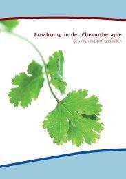 Ernährung in der Chemotherapie - ribosepharm GmbH