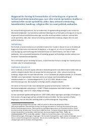 20130207 Baggrund for forslag om lovforslag - panbloggen