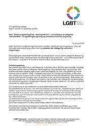 2012-13 B28 LGBT Danmark - Landsforeningen for bøsser og lesbiske