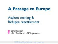 Asylum seeking & Refugee resettlement - panbloggen