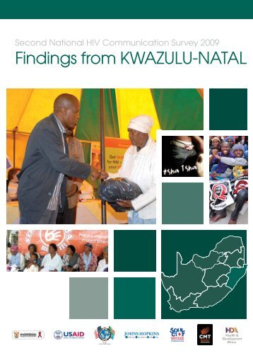 Kwazulu-Natal (PDF) - Johns Hopkins Health and Education South ...