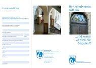 Der Schulverein lädt ein… - Gymnasium Hermann-Böse-Straße