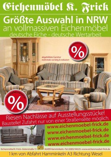 Eichenmöbel K. Frick - Eichenmöbel  Konrad Frick
