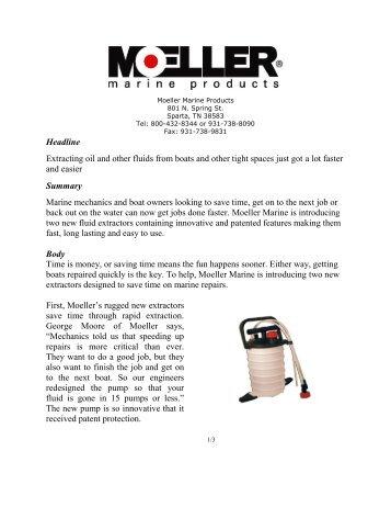 Please click here - Moeller Marine Online